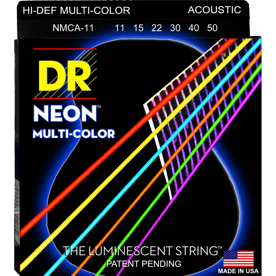 K3 Neon Hi-Def Multi-Color Acoustic MCA-11