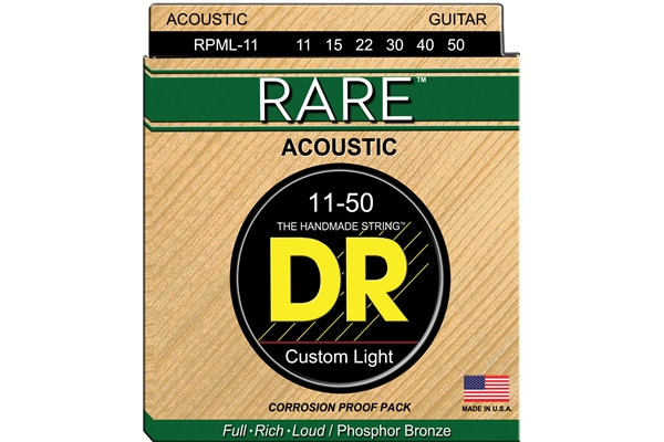 DR Strings - Rare Phosphor Bronze RPML-11