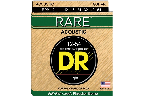 DR Strings - Rare Phosphor Bronze RPM-12