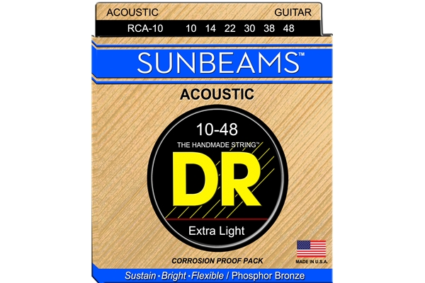 DR Strings - Sunbeam RCA-10