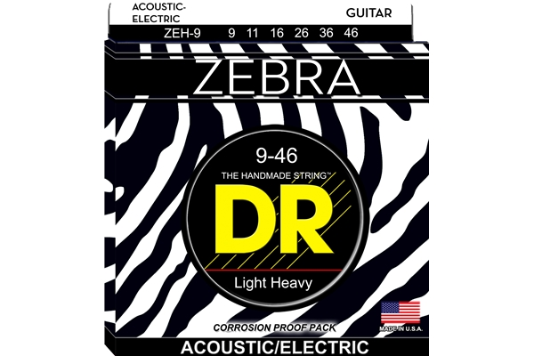 DR Strings - Zebra ZEH-9