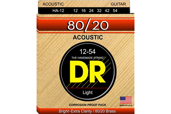 DR Strings - Hi-Beam 80/20 HA-12