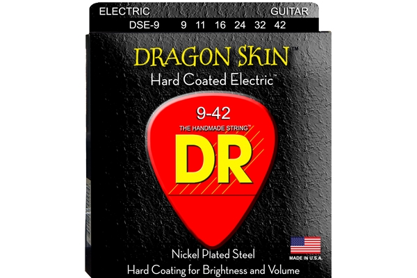 DR Strings - K3 Dragon Skin DSE-9 Electric
