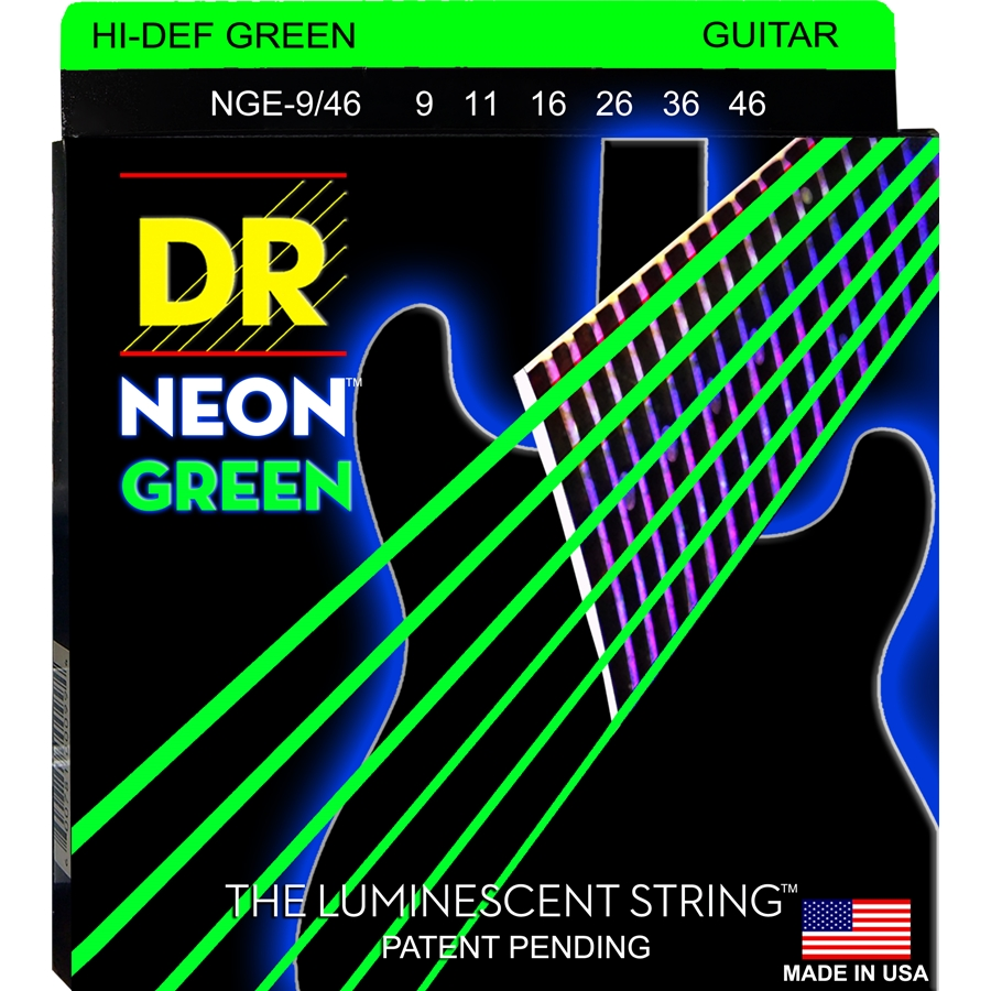 K3 Neon Hi-Def Green Electric NGE-9/46
