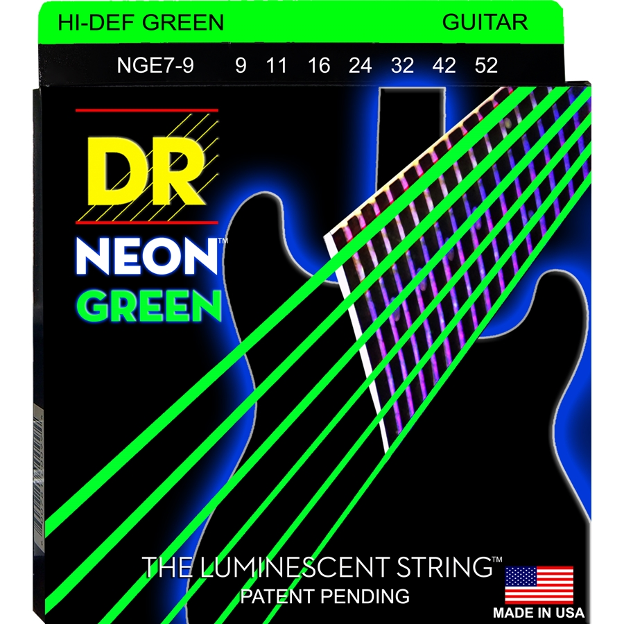 K3 Neon Hi-Def Green Electric NGE7-9