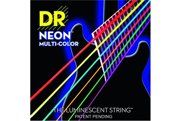DR Strings - K3 Neon Hi-Def Multi-Color Electric MCE-9