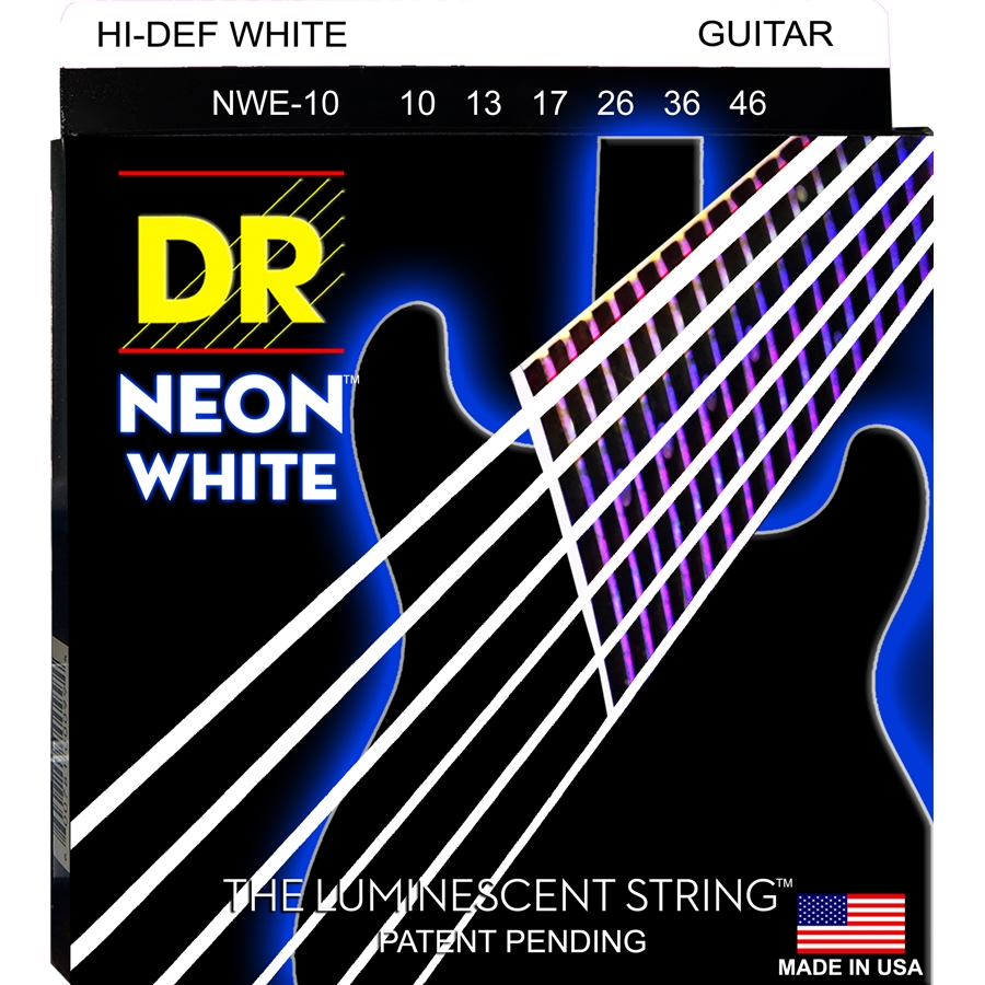 K3 Neon Hi-Def White Electric NWE-10