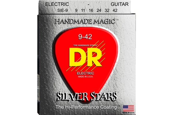 DR Strings - K3 Silver Stars Electric SIE-9