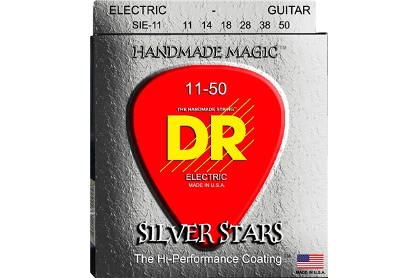 DR Strings - K3 Silver Stars Electric SIE-11