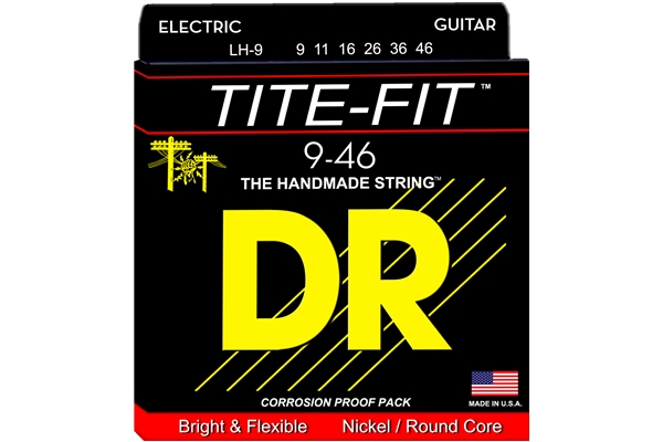 DR Strings - Tite-Fit LH-9