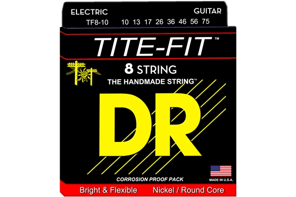 DR Strings - Tite-Fit TF8-10