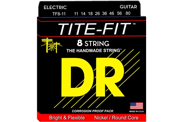 DR Strings - Tite-Fit TF8-11