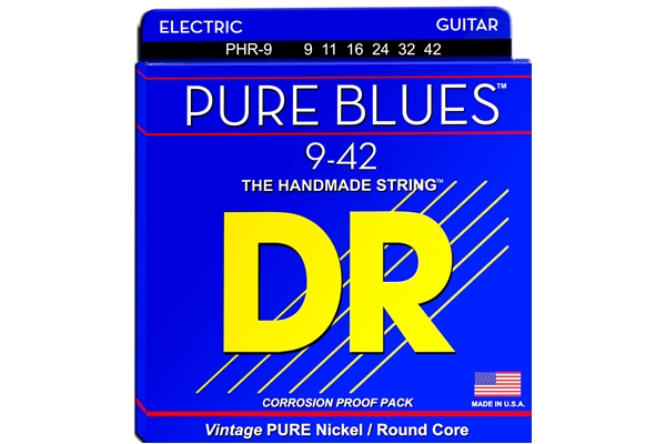DR Strings - Pure Blues PHR-9