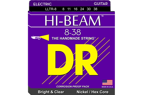 DR Strings - Hi-Beam LLTR-8