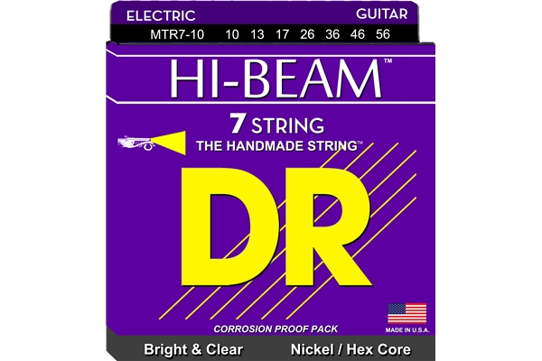 DR Strings - Hi-Beam MTR7-10