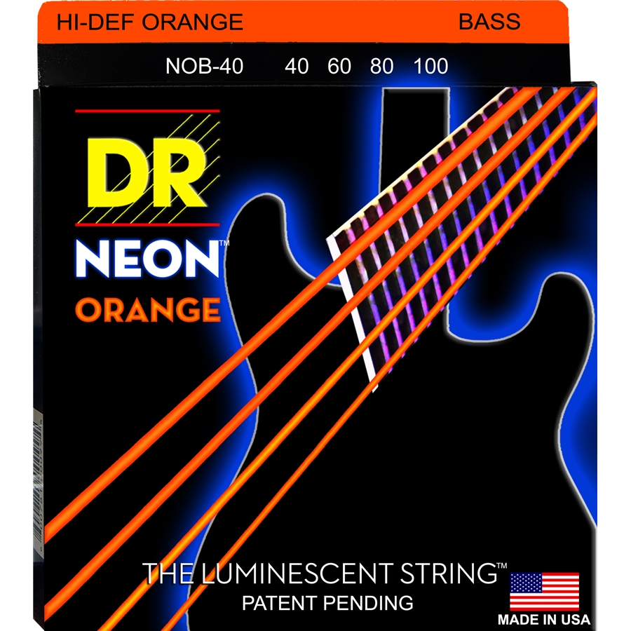 K3 Neon Hi-Def Orange Bass NOB-40