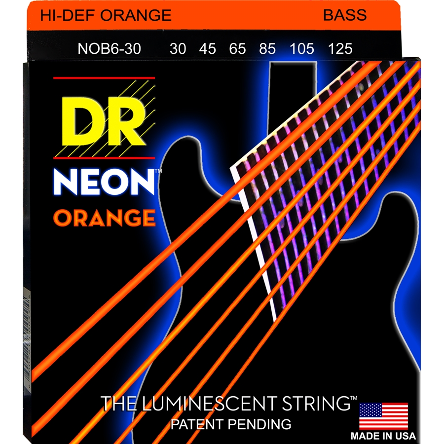 K3 Neon Hi-Def Orange Bass NOB6-30