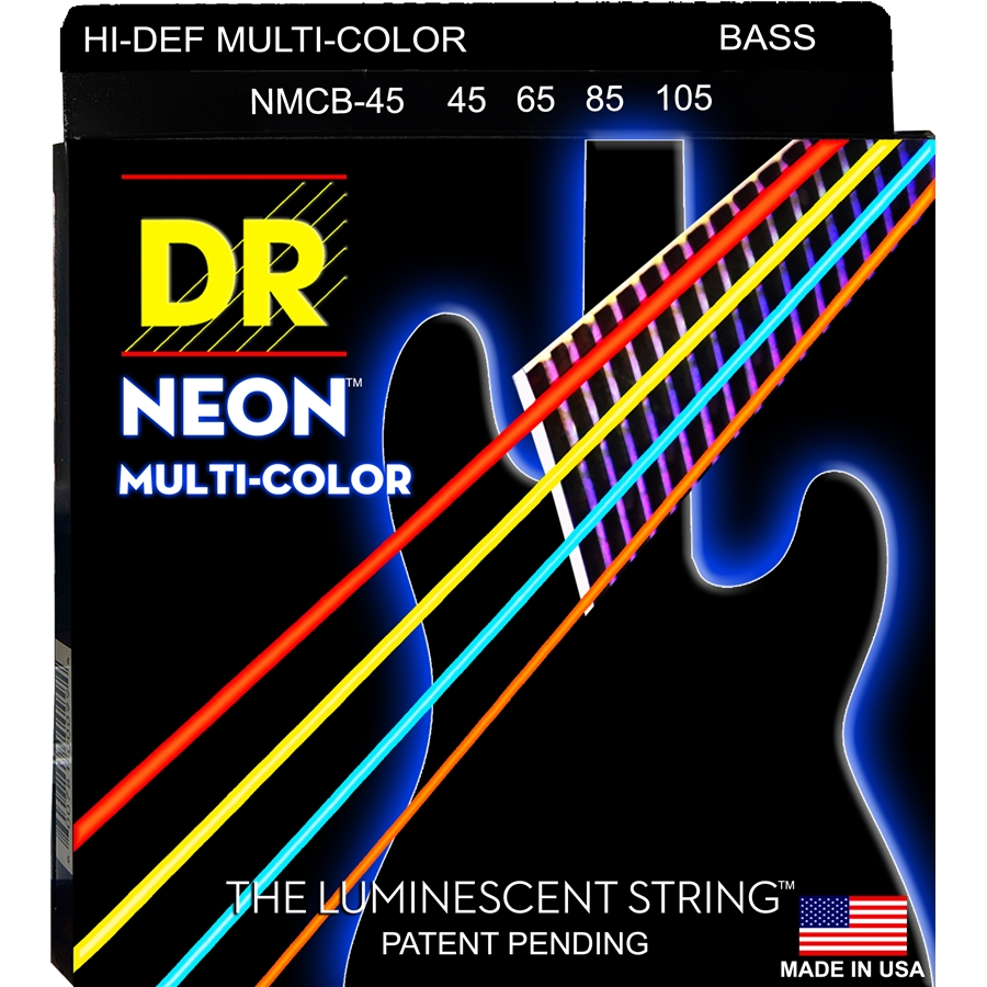 K3 Neon Hi-Def Multi-Color Bass MCB-45
