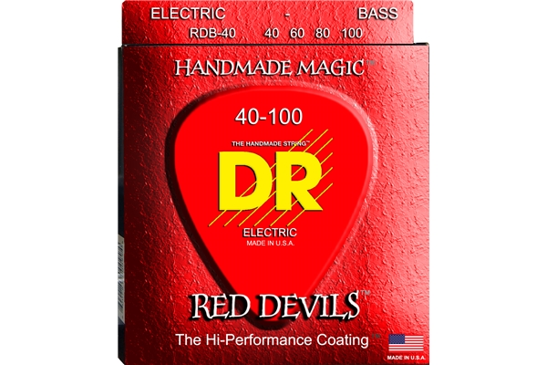 DR Strings - K3 Red Devils Bass RDB-40