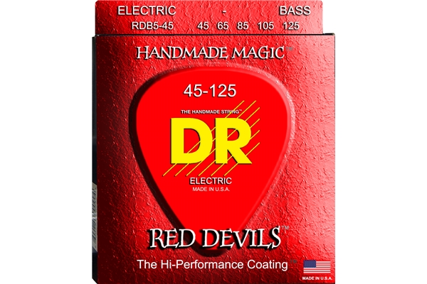 DR Strings - K3 Red Devils Bass RDB5-45