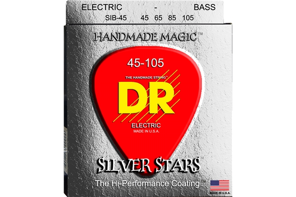 DR Strings - K3 Silver Stars Bass SIB-45
