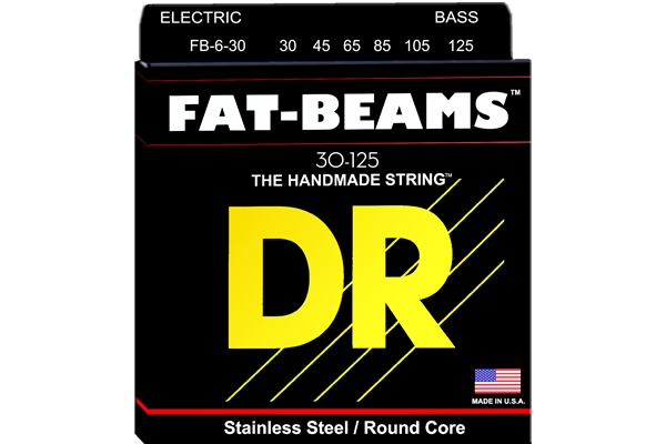 DR Strings - Fat-Beams FB6-30