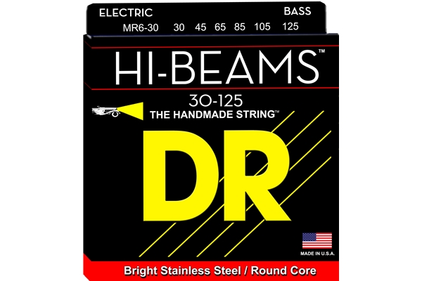 DR Strings - Hi-Beam MR6-30
