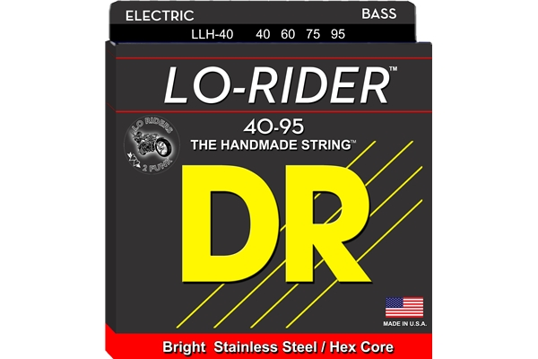 DR Strings - Lo-Rider LLH-40