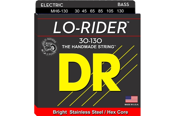 DR Strings - Lo-Rider MH6-130