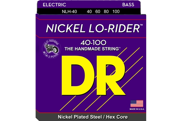 DR Strings - Nickel Lo-Rider NLH-40