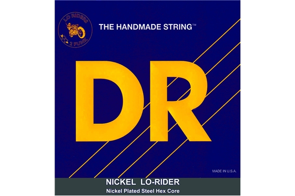 DR Strings - Nickel Lo-Rider NLH5-40