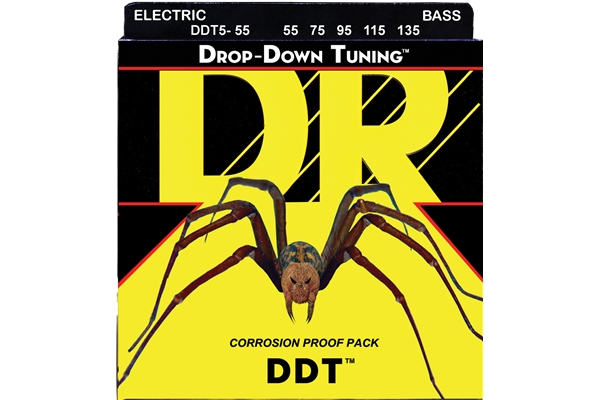 DR Strings - Drop-Down Tuning Bass DDT5-55