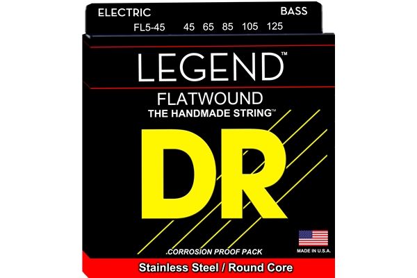 DR Strings - Flatwound Legend FL5-45