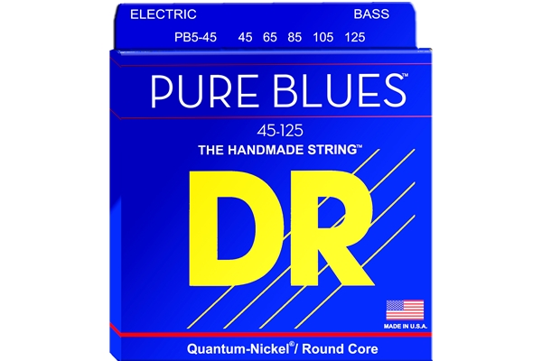 DR Strings - Pure Blues PB5-45