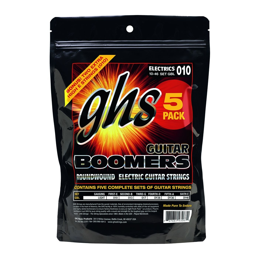 Muta GBL - 5 pack SET -Boomers - Light