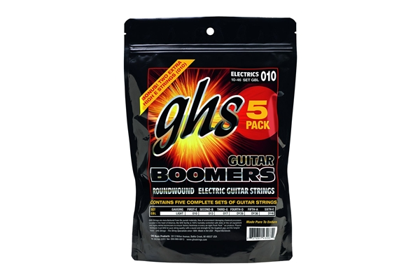 GHS - Muta GBL - 5 pack SET -Boomers - Light