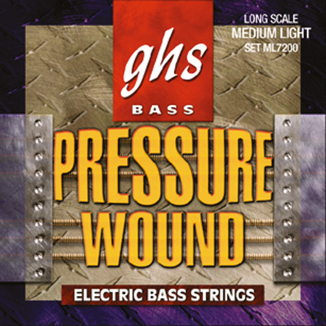 GHS - Muta M7200 - Pressurewound - Long Scale - Medium