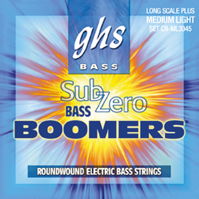 GHS - Muta CRML3045 Sub Zero Boomers Long Scale Plus - Medium Light