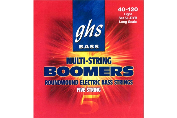 GHS - Muta 5L-DYB Boomers Low B - Standard long Scale