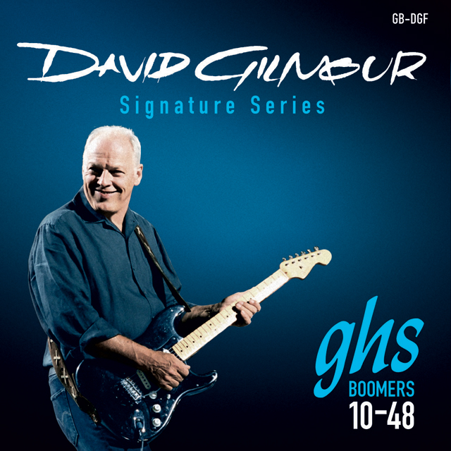 GHS - GHS MUTA GB-GF GILMOUR - David Gilmour Sign. - Blue Set (Fender)