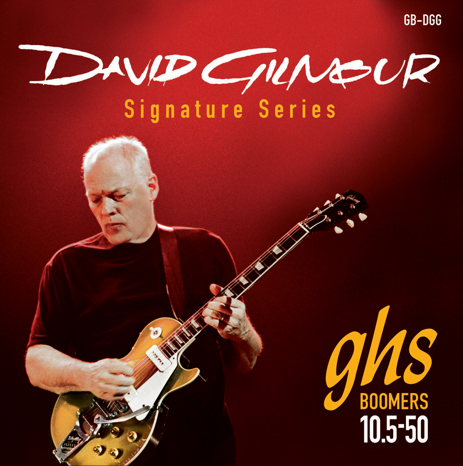 GHS MUTA GB-GG GILMOUR - David Gilmour Sign. - Red Set (Gibson)