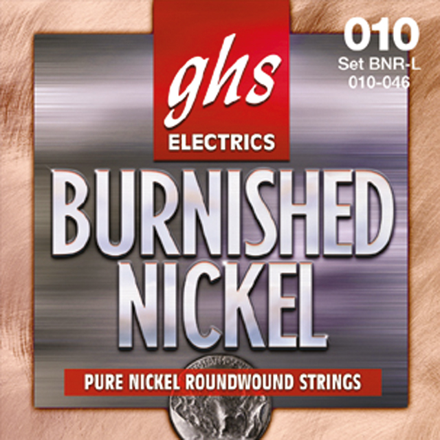 GHS - BNR32 Burnished Nickel Rockers Single 0.32