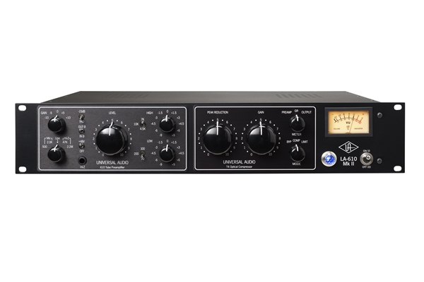 Universal Audio - LA-610-MKIl Classic Tube Recording Channel
