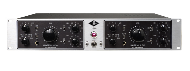 Universal Audio - 2-610 Dual channel tube preamp