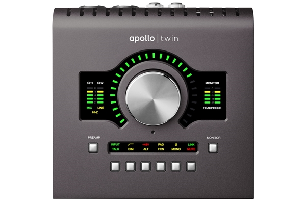 Universal Audio - UA APOLLO TWIN QUAD MKII