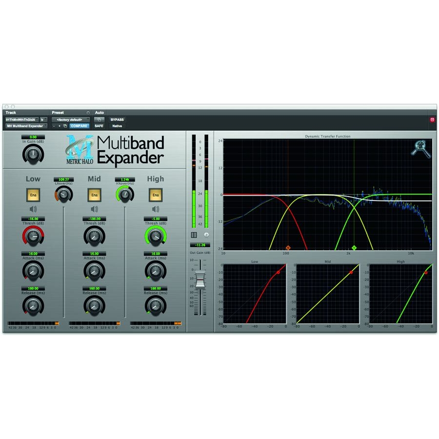 Multiband Expander per AAX