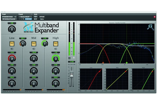 Metric Halo - Multiband Expander per AAX
