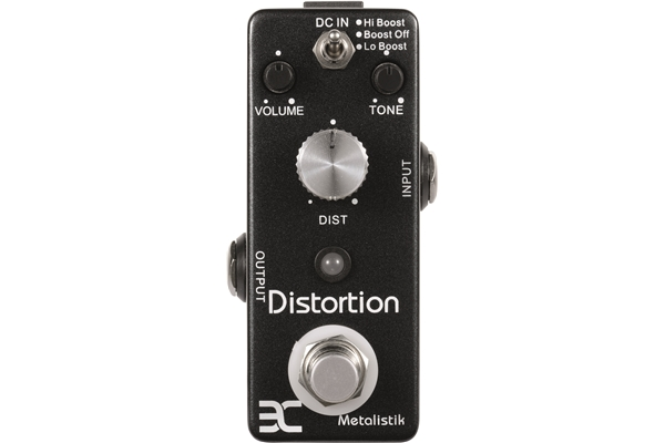 Ex Pedals - TC-11 - Metalistick Distortion