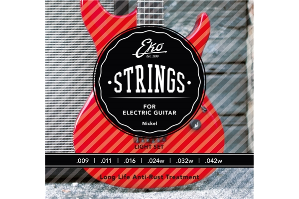 Eko - Electric Guitar Strings 9-42 set