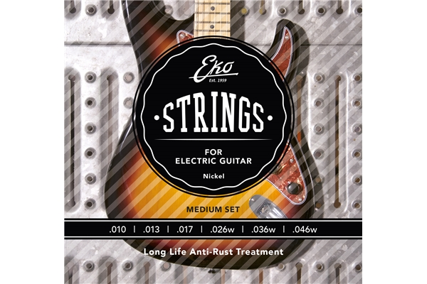 Eko - Electric Guitar Strings 10-46 set